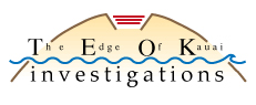 The Edge of Kauai Investigations logo